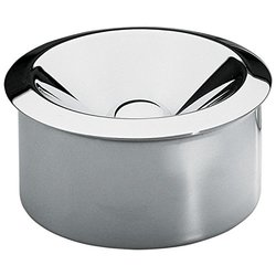 Alessi Stainless Steel Bauhaus Archive Ash Tray