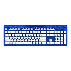 Rock Candy Blueberry Boom Wireles Keyboard