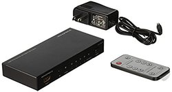 Monoprice 105557 4x1 HDMI Switch with Toslink, Digital Coaxial and 3D Support