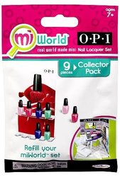 MiWorld Collector Pack OPI 9 Piece Nail Lacquer Set [1 Nail Lacquer Stand & 8...