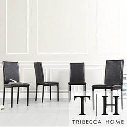 Darcy Espresso Metal Upholstered Dining Chair (Set of 4), Dining Room Furniture, Dinette Set, Dining Chairs, Dining Room Chairs