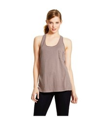 Merona Women's Drapey Tank with Pocket - Purple- Size: XL