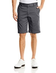 Flat Front Golf Shorts Dark Grey