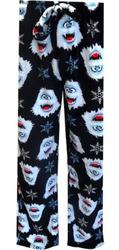 Printed Women's Plush Pajama Pant - Size: Large