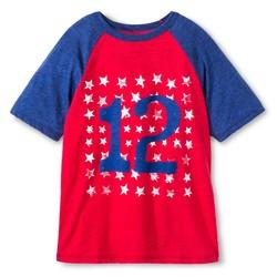 Cherokee Boys' Americana Graphic T-Shirt - Chili Pepper Red - Size: XL