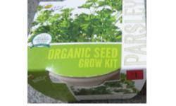 Buzzy Fresh & Natural Parsley Organic Seed Kit