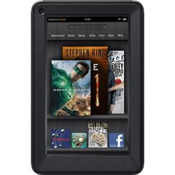 "OtterBox Defender Series Case & Stand for Amazon Kindle Fire 7"" - Black"
