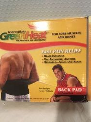Incredible Green Heat Back Pad