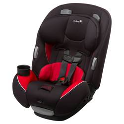 Safety 1st Continuum 3-In-1 Convertible Car Seat - Chili Pepper