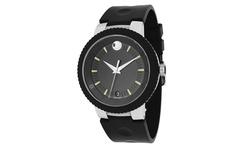 Movado Men's Swiss Quartz Watch  - Black