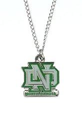 NCAA North Dakota Sioux Team Logo Necklace