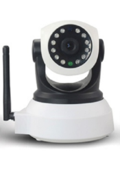 VIPCAM 720p HD IP Security Camera with Built-In WiFi