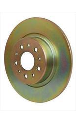 Brakes Premium OE Replacement Rotors Disc Brake Rotors - Gold (UPR7433)