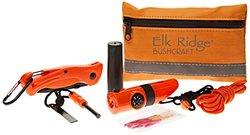 Elk Ridge 24-Piece Bushcraft Outdoor Survival Camping Set - Orange