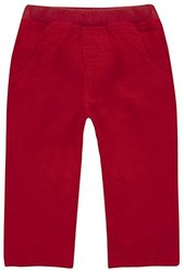 JoJo Maman Bebe Cord Pull-Ups (Baby) - Red-0-3 Months