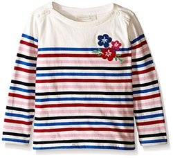 JoJo Maman Bb Kid's Breton Top, Cream, 2-3y US