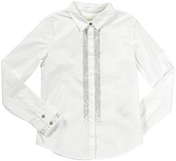 Diesel 'Cipitei' Woven Shirt (Kids) - White-Medium