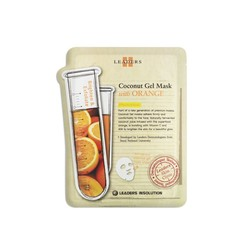 Leaders Coconut Gel Mask with Orange - Box of 10 Sheets