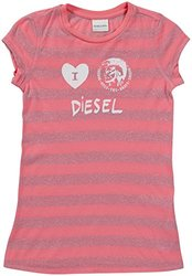 Diesel 'Tindico' T-Shirt (Kids) - Magenta-X-Large
