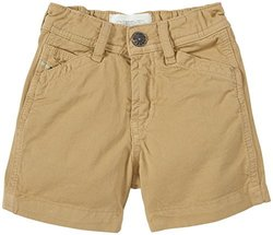 Diesel Baby Boys' Colored Gabardine Shorts (Baby) - Khaki - 12 Months