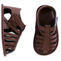 Cherokee Boy's Gladiator Sandal - Brown - Size: 3-6M