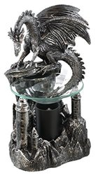 Dragon's Peak Dragon Oil Warmer Figurine