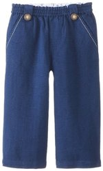 JoJo Maman Bebe Baby Boys' Linen Trousers, Navy, 12 18 Months
