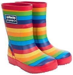 JoJo Maman Bebe Patterned Toddler Wellies - Rainbow - Size: 3