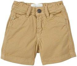 Diesel Baby Boys' Colored Gabardine Shorts (Baby) - Khaki - 9 Months