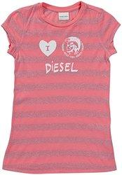 Diesel 'Tindico' T-Shirt (Kids) - Magenta-XX-Small