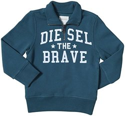 Diesel Sippy Half-Zip Sweat-Shirt (Kid) - Spruce-7
