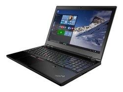 """ThinkPad P50 15.6"""" Laptop i7 2.7GHz 8GB 512GB Windows 10 (20ENCTO1WW)"""