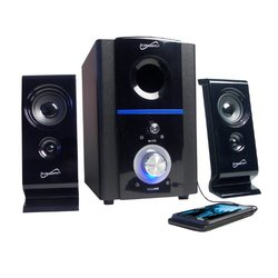 Supersonic 2.1 Multimedia Speaker System with USB/SD Inputs Supersonic 2.1 Multi