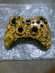 Wireless Zombie Print Replacement Controller Case for Xbox 360