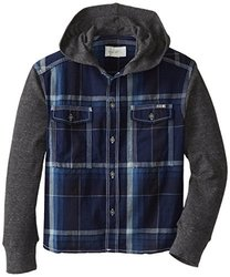 Diesel Ciapuk Check Yarn Dyed Plaid Shirt (Kid) - Indigo-5