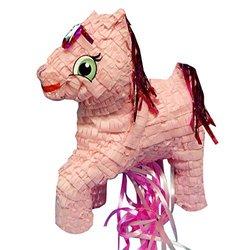 Aztec Imports Pinatas Pony Pull String Pinata - Pink (PWA109)