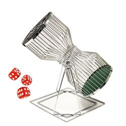 "Brybelly 18.5"" Chuck-a-Luck Birdcage Game Set (GCVL-002)"
