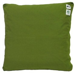 Zabuton Cushion: Kapok-filled, 100% Organic Cotton Meditation Cushion (Green Grass, Medium 24 X 24)