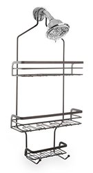 Mercer Rust Resistant 3-Shelf Showerhead Caddy - Bronze (21003-ORB)