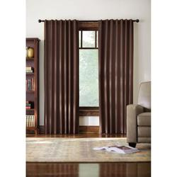 "Home Decorators Monaco Thermal Back Tab Curtain - Brown - Size: 52"" X 84"""