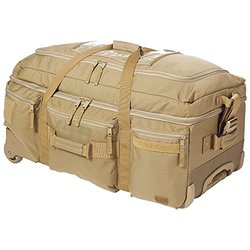 5.11 Tactical Mission Ready 2.0 Rolling Duffel Bag Sandstone