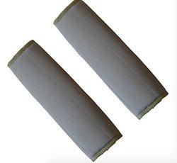 SOJOY'S Car Seat Belt Shoulder Pads Covers Cushion (Dark Gray) -
