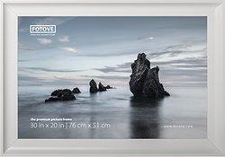 "Fotove 20"" x 30"" Elegance Picture Photo Frame - White (F2030-1210)"