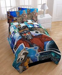 Marvel Boy Guardians of the Galaxy Twin Comforter - Blue - Twin
