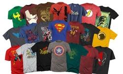 Men's Superhero T-shirts Mystery Deal: Small