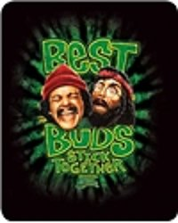 "Cheech & Chong ""Up in Smoke"" - Officially Licensed Medium Weight Faux Furtm Blanket"
