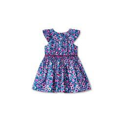 Cherokee Girls Sleeveless Floral Dress - Multi - Size: 3T