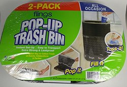 Flings 2 ct Trash Bags