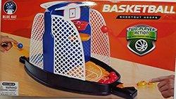 Blue Hat Basketball Shootout Hoops