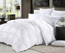 Elliz Lightweight 100% Cotton Down Comforter - White - Size: Twin